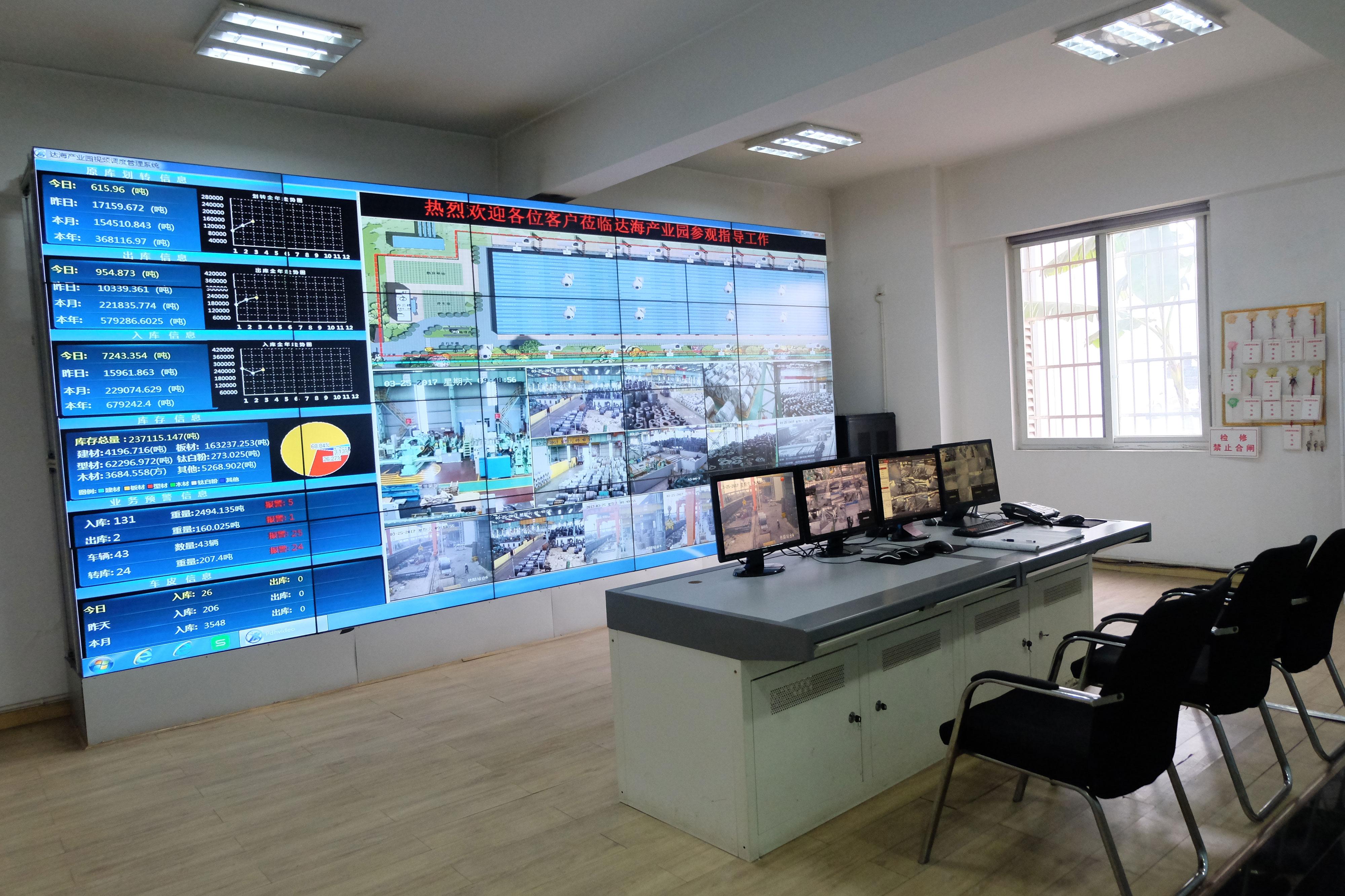 图片说明:达海产业园调度中心展示.jpg