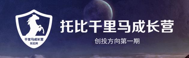 托比网千里马成长营:总裁班(创投方向第一期)